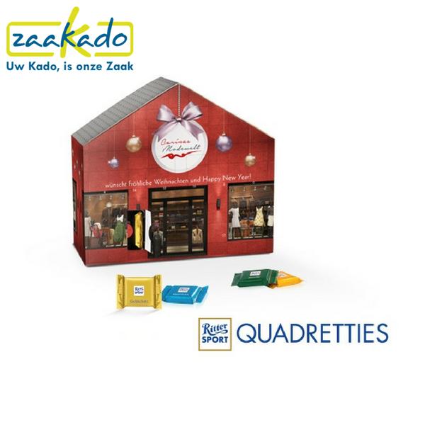 Adventskalender uw bedrijf heel december in beeld for Cadeau eigen huis